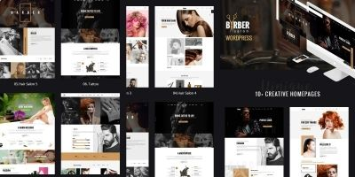 Beauty Salons WordPress Theme