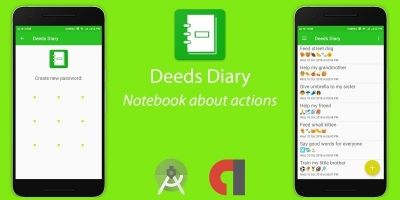Deeds Diary - Android Studio Project