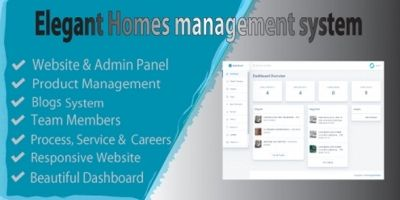 Elegant Homes Management System PHP