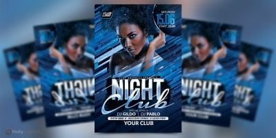 Night Club Flyer