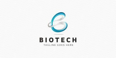 Biotech - B Letter Logo
