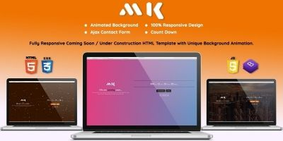 MK - Coming Soon HTML Template