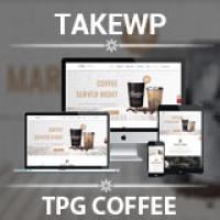 TPG Coffee  - WordPress Theme