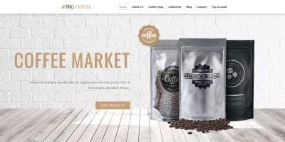 TPG Coffee  - WordPress Theme