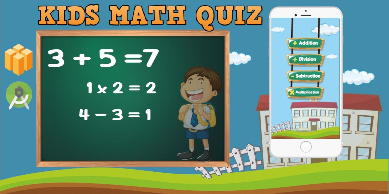 Kids Math Quiz - Buildbox Template