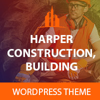Harper - Construction Building WordPress Theme