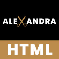 Alexandra - Barber Shop HTML Template