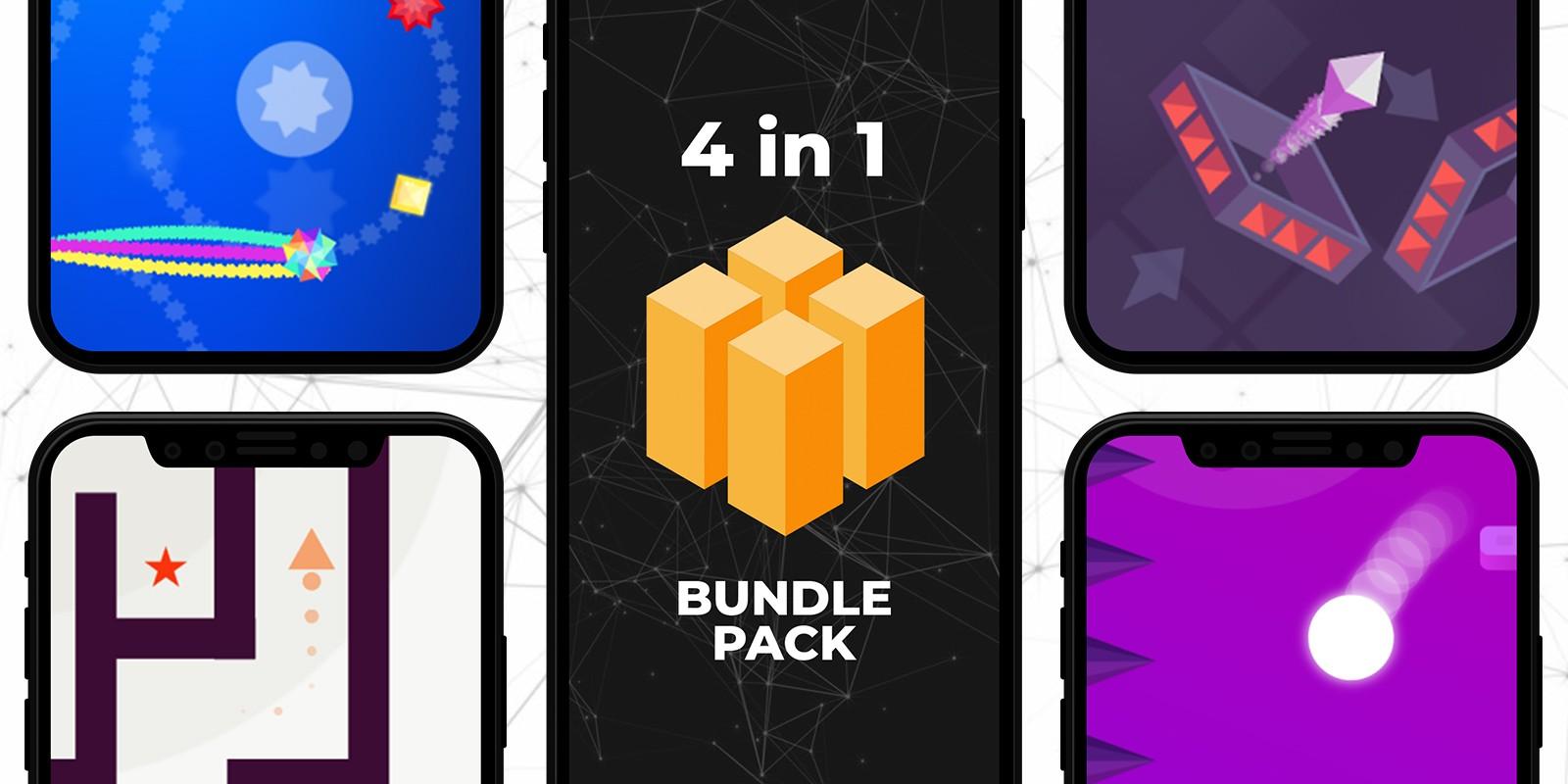 4 In 1 - BuildBox Games Pack