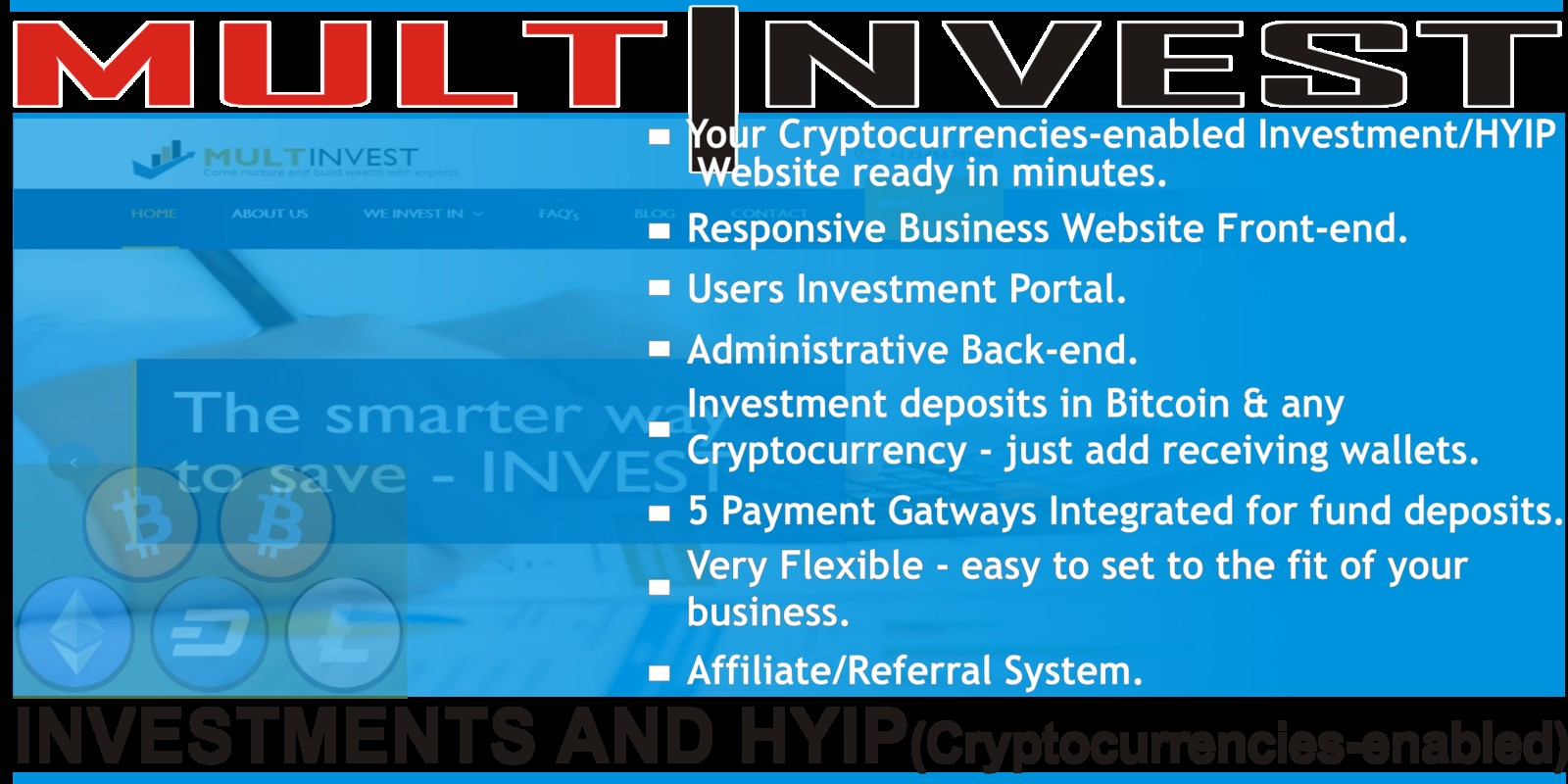 cryptocurrency investment script