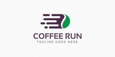 Coffee Running Logo