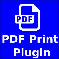 PDF Print Wordpress Plugin