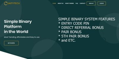 Simple Binary Multi Level Marketing PHP