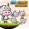 cow-2d-game-character-sprites
