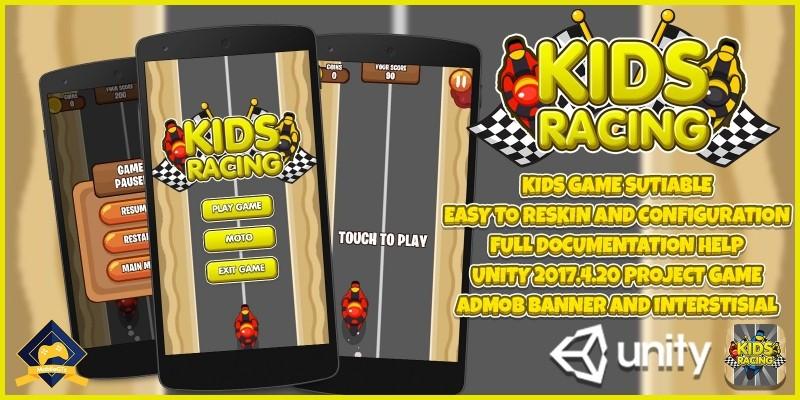 Kids Motor Racing LTS Unity Project