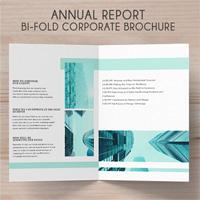 Bi-Fold  Brochure Annual Conference - 4 Template