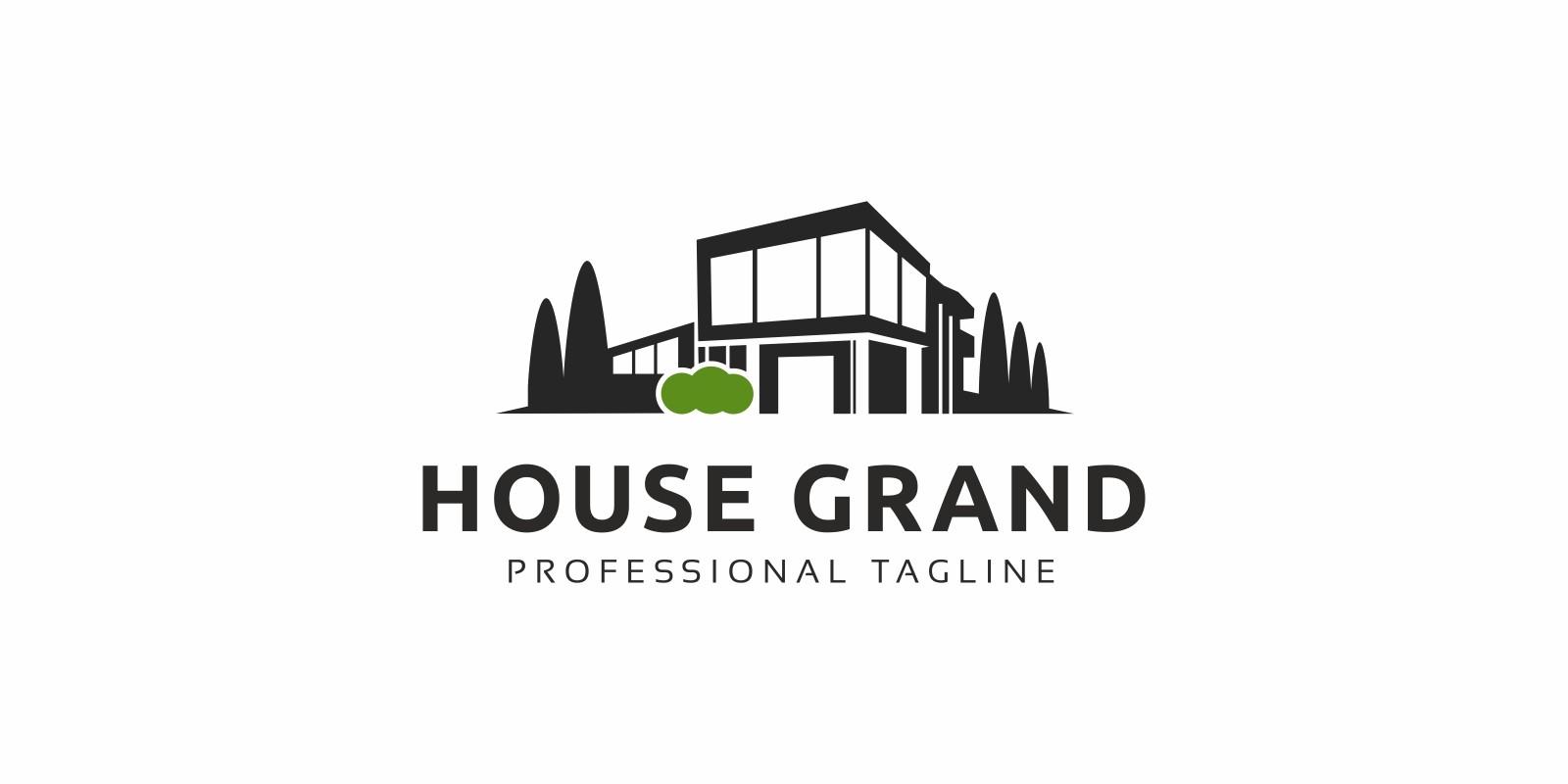 House Modern Logo