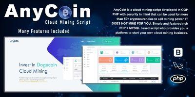 AnyCoin Cloud Mining Script