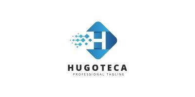 Hugoteca H Lettre Logo