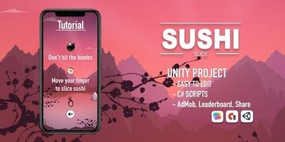 Sushi Slice - iOS Source Code