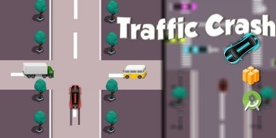 Traffic Crash - Buildbox template