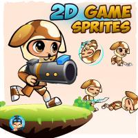 Dogie Boy 2D Game Sprites