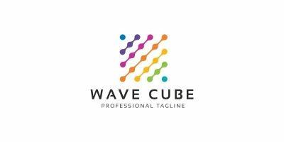 Wave Cube Logo
