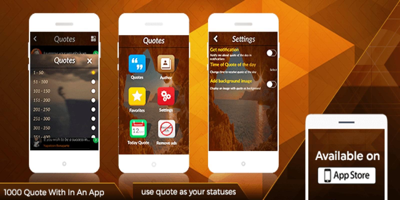 Quotes  - iOS App Source Code