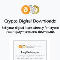 Crypto Digital Downloads PHP Script