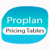 Proplan - Unique Modern pricing tables