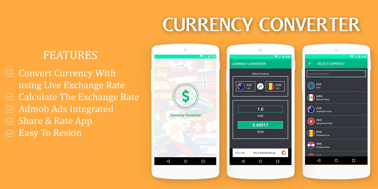 Currency Converter - Android App Source Code