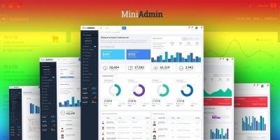 MiniAdmin - Responsive Bootstrap Admin Templates