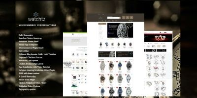 Watchtz - WooCommerce Theme