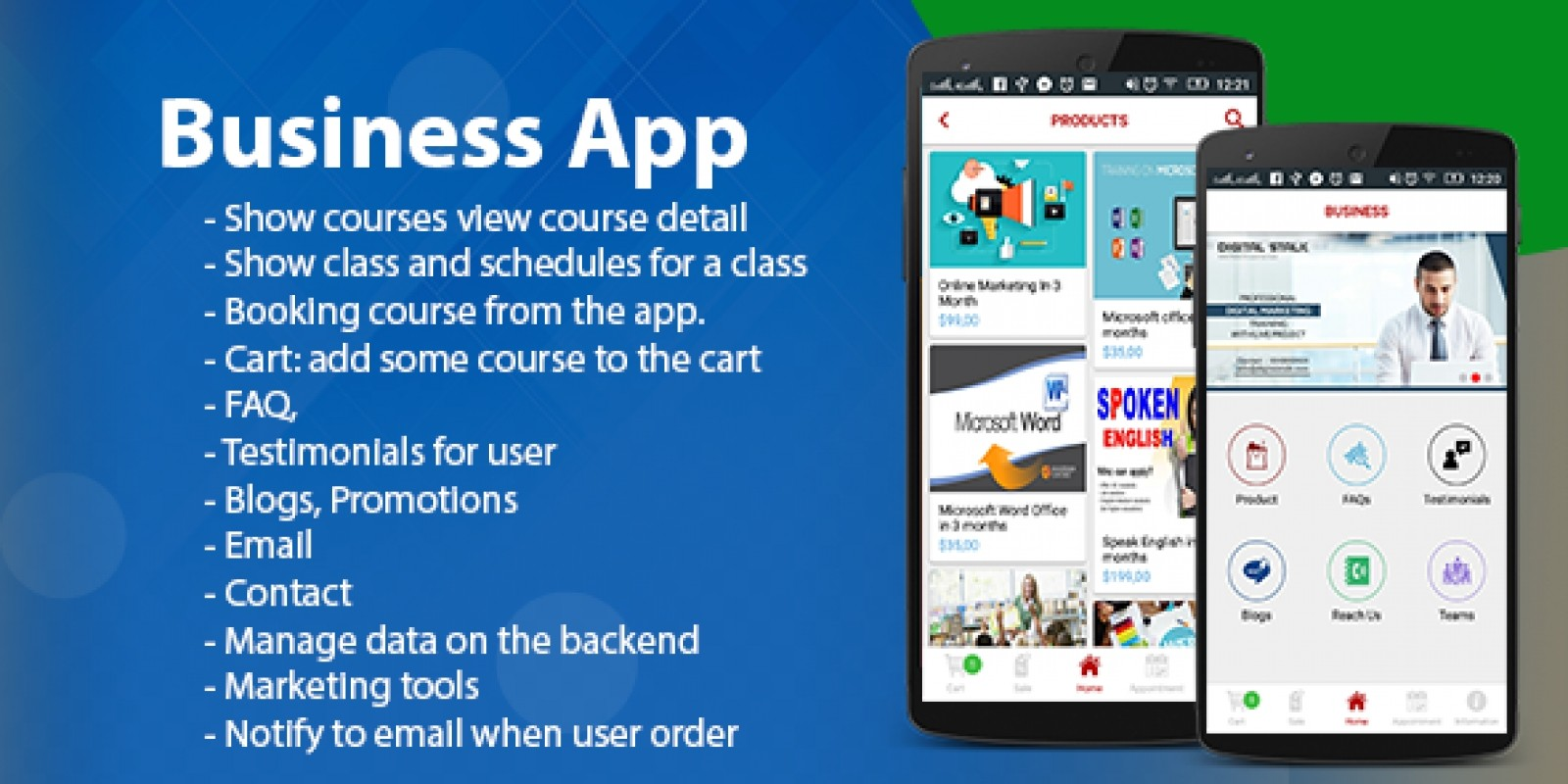 Business App - Android Template