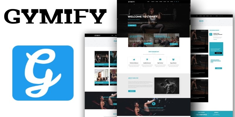 Gymify - Fitness And Gym HTML template