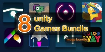 8 Unity Games Bundle