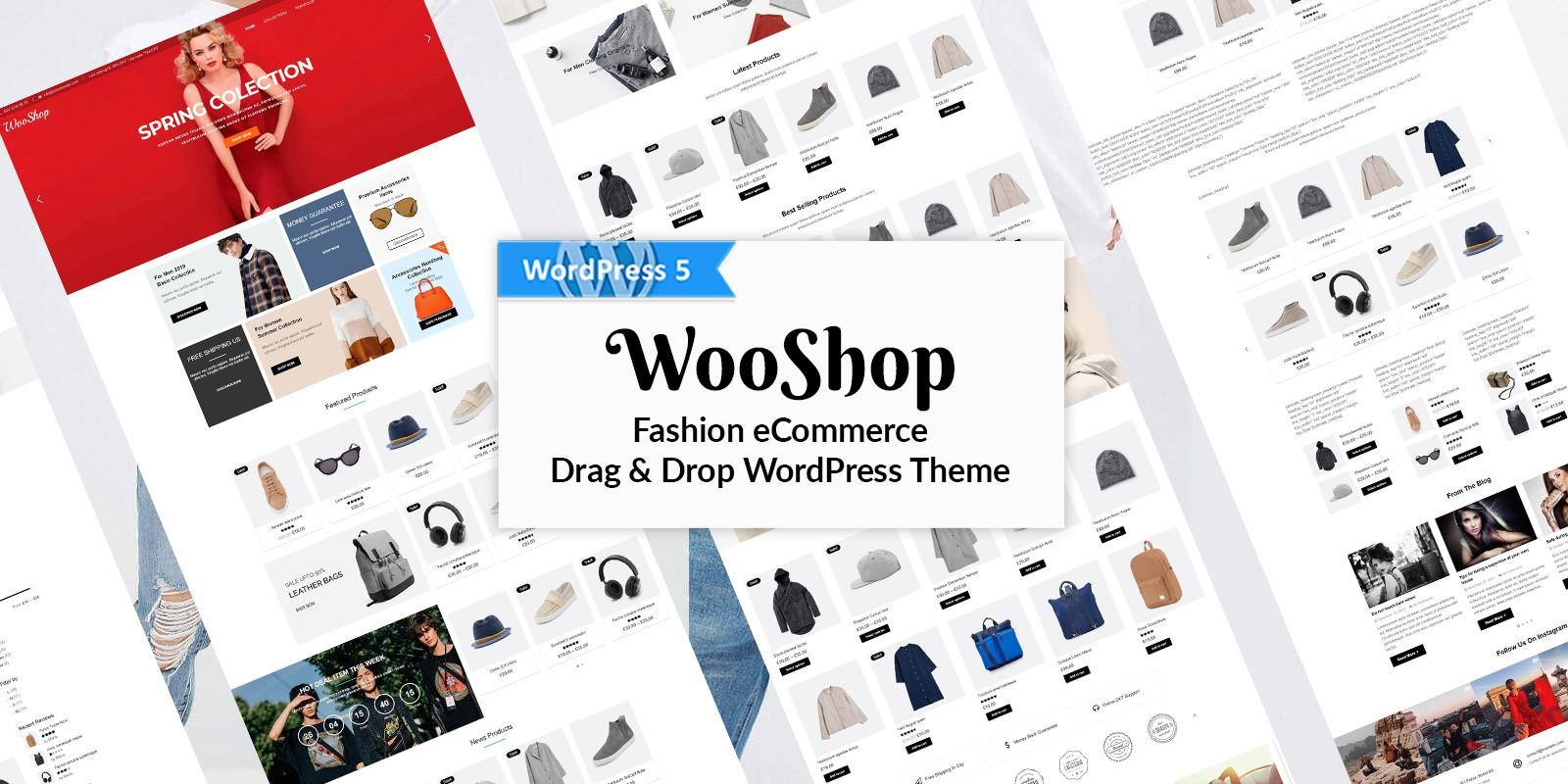 WooShop - Fashion eCommerce WooCommerce Theme