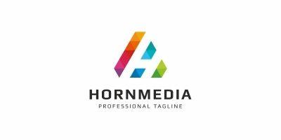 Hornmedia H Letter Logo