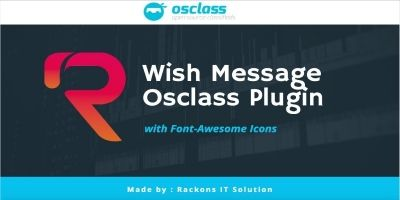 Wish Message Plugin For Osclass
