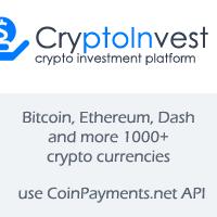 CryptoInvest - Crypto Investment Platform Script