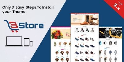 3store OpenCart 3 Website Template