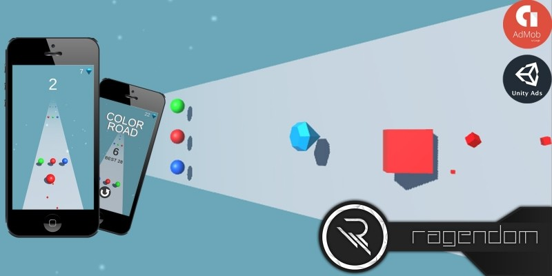Color Road - Complete Unity Game