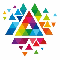 Triangle Colorful logo