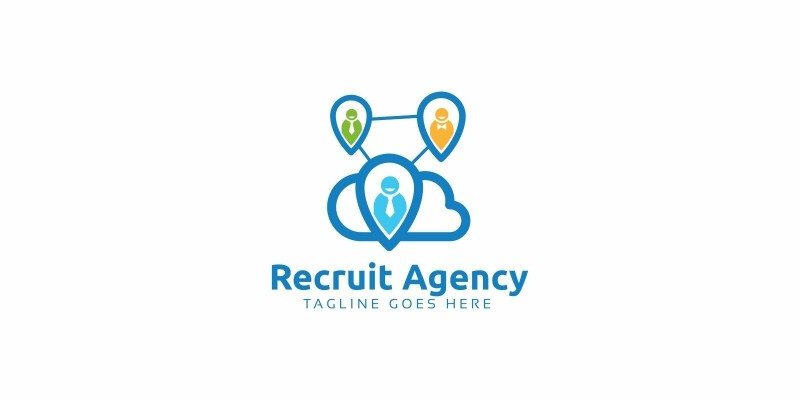 Recruit Agency Logo