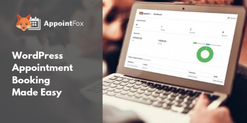 AppointFox - WordPress Appointment Booking Plugin