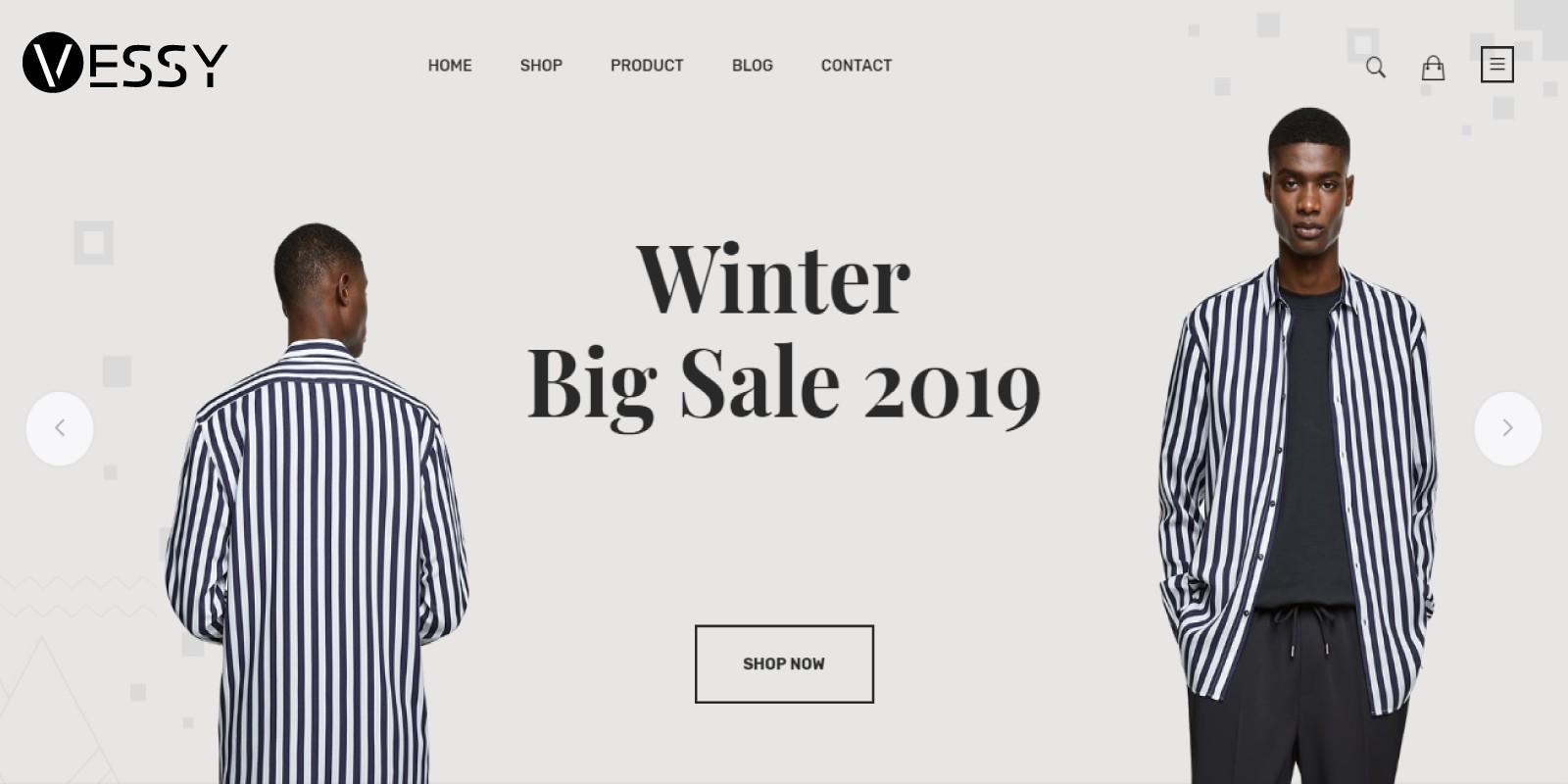 Vessy - Fashion Store Shopify Theme