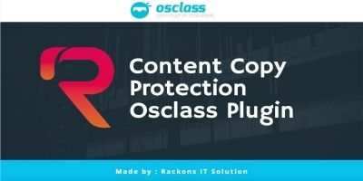 Copy Protect and No Right Click Plugin Osclass