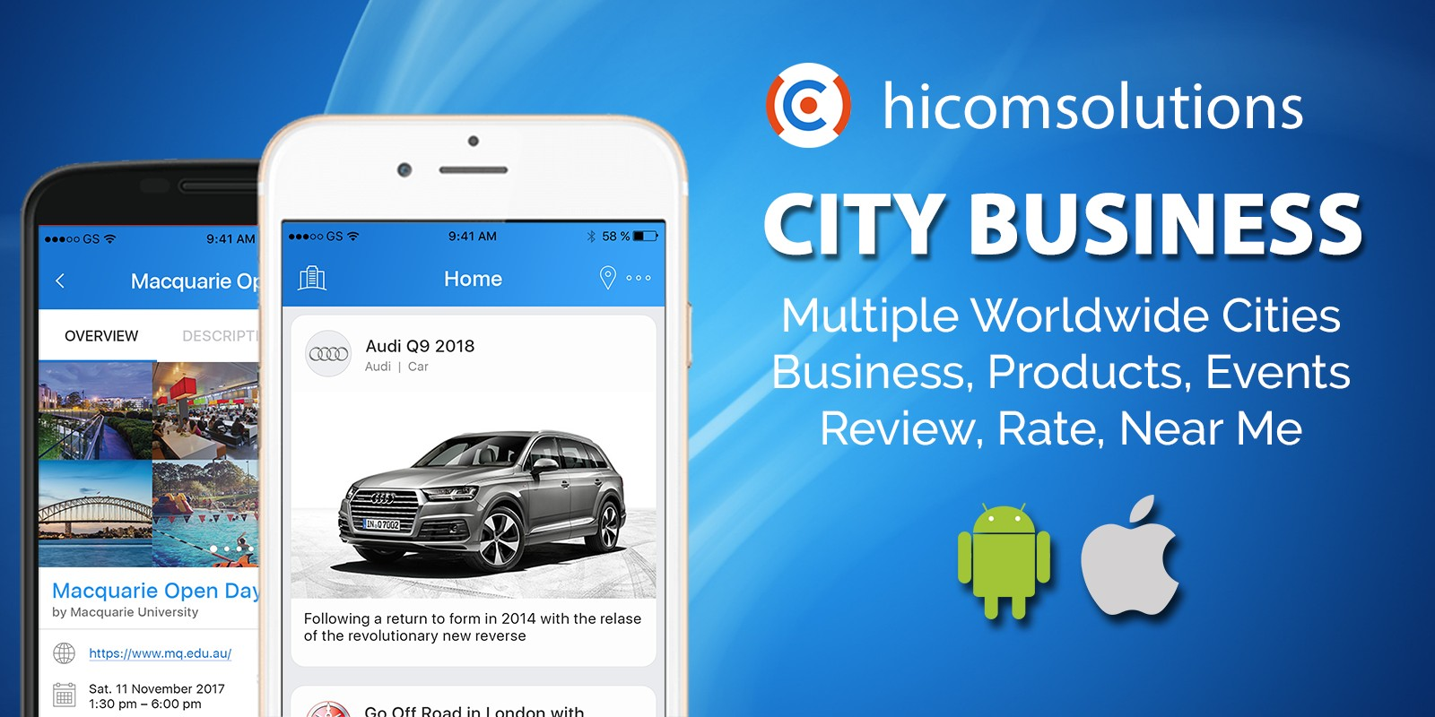 City Business Information Android App Source Code