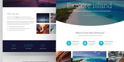 Travex - Travel Agency Modern WordPress Theme