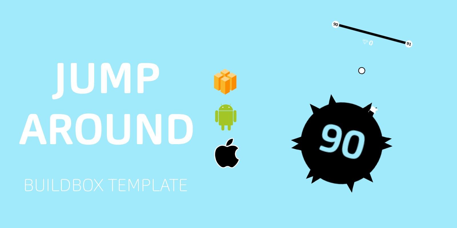 jump around Buildbox Template