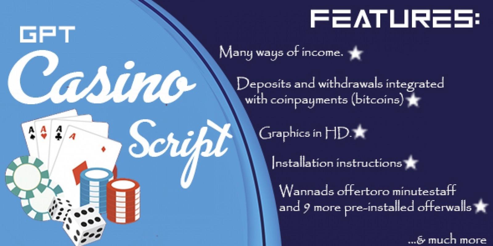 Casino Script Php